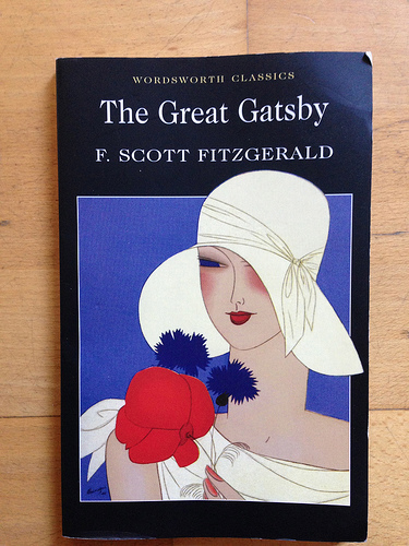 Couverture du roman The Great Gatsby
