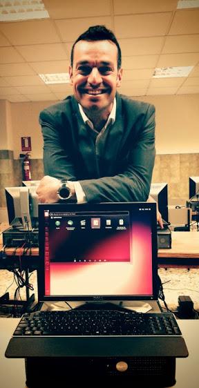 un libriste espagnol qui migre son collège vers ubuntu