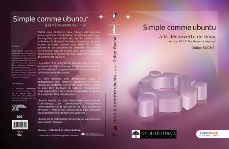 « Simple comme Ubuntu » - couverture par Alexandre Mory - Creative Commons By Sa