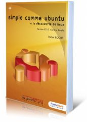 Framabook - Simple comme Ubuntu 9.10 - Cover Alexandre Mory Art Libre