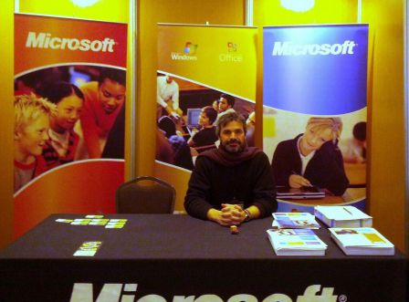Stand Microsoft - Alexis Kauffmann - CC by