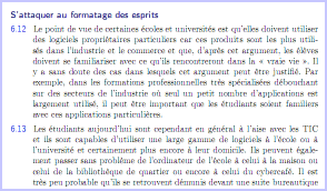 Rapport Becta - Extraits