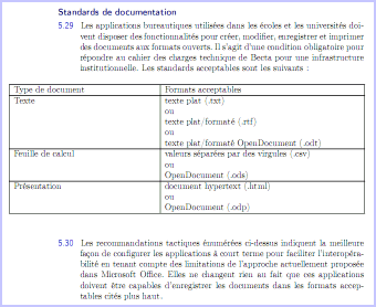 Rapport Becta - Standards