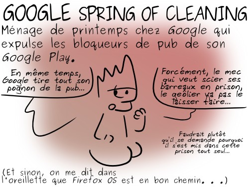 Google spring cleaning