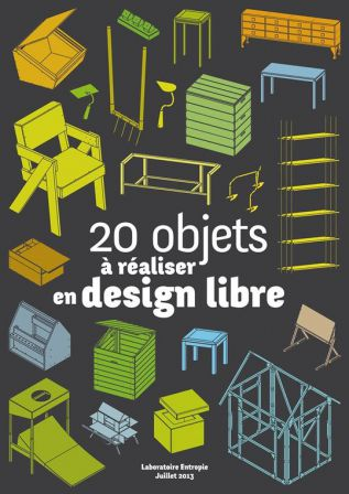 Cover 20 objets Design Libre