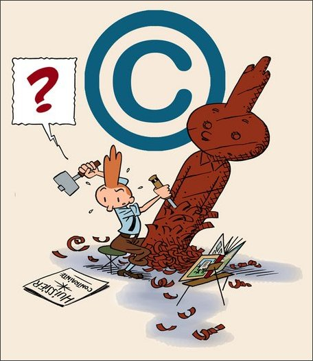 L'Affaire Copyright - Page de garde - Piccolo