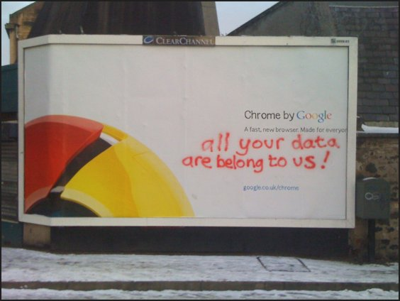 All your data belong to us