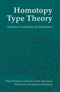 Homotopy Type Theory - Couverture