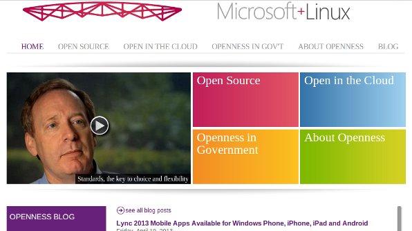 Microsoft + Linux