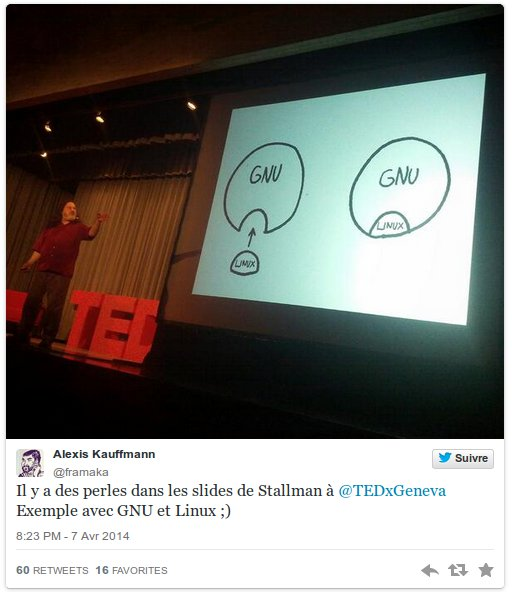 Stallman - Slide - TEDxGeneva
