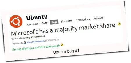 Ubuntu bug#1 Microsoft