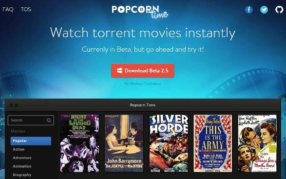 comment marche popcorn time