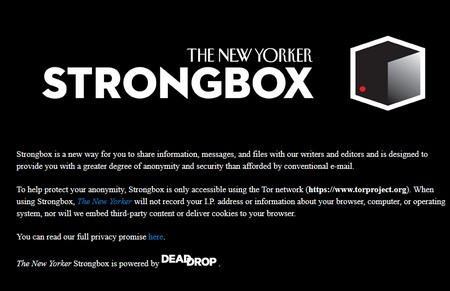 Strongbox - The New Yorker