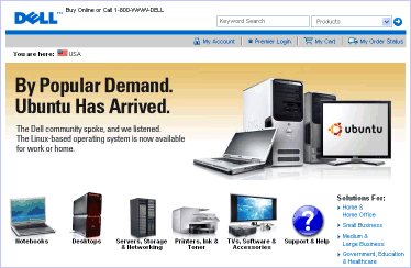 Dell.com - Ubuntu - screenshot