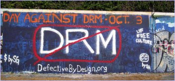 DefectiveByDesign.org - No DRM