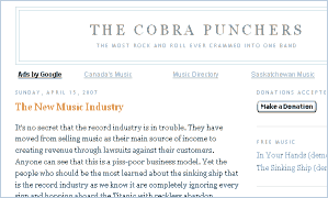 The Cobra Punchers - Blog - screenshot