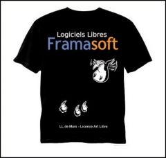tee-shirt framasoft version 2