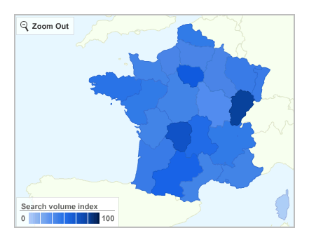 Google Insight Search - Linux - France