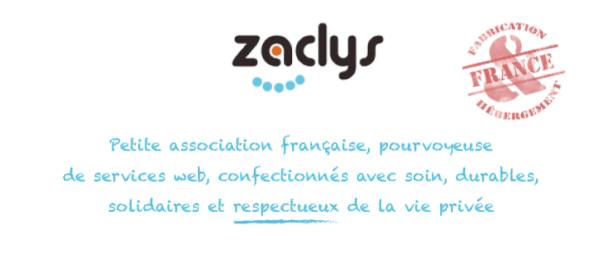 La mère Zaclys: petite asso et grands services!