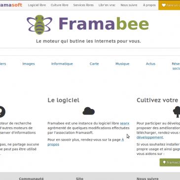 Framabee, le (méta-)moteur qui va vous butiner le web !