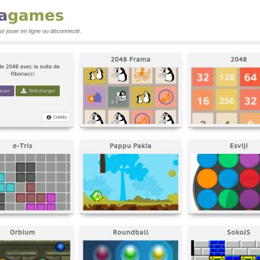 Framagames: des jeux pour changer les idées aux lycéens