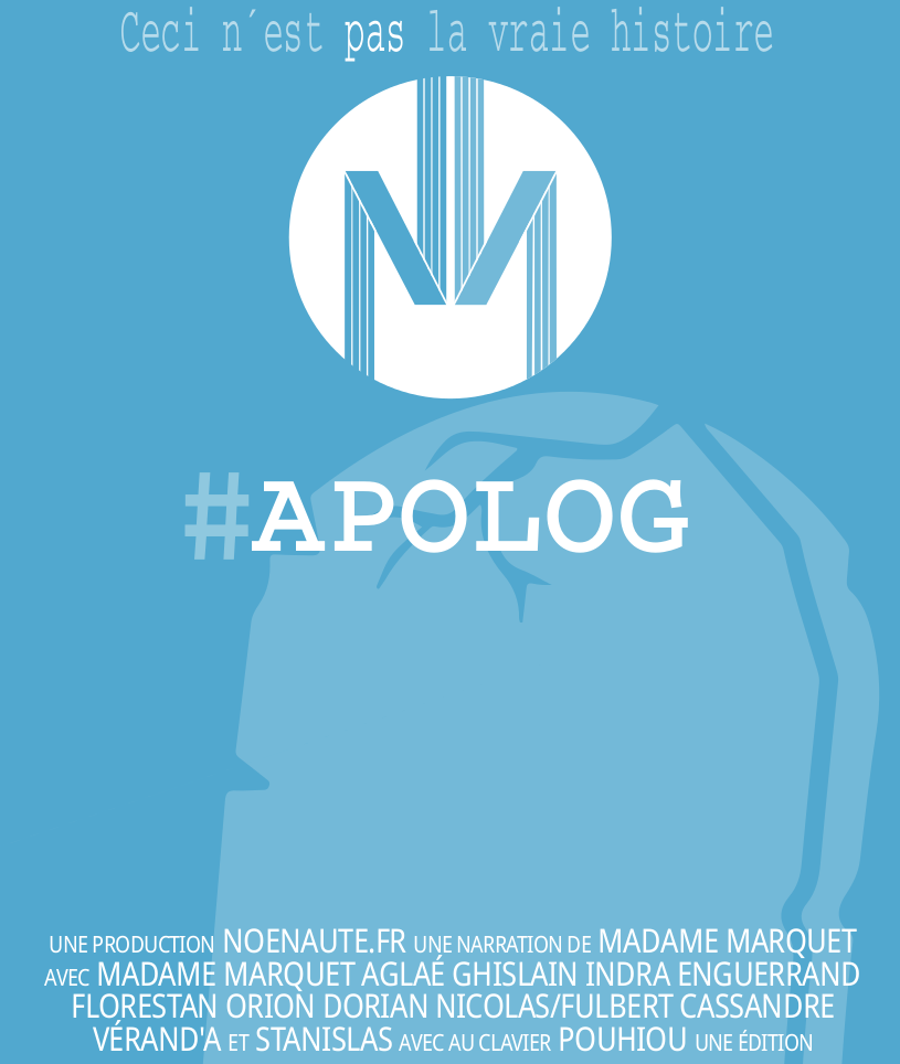 Cliquez sur la couv pour télécharger ou acheter #Apolog, le tome III des NoéNautes sur  Framabook.org