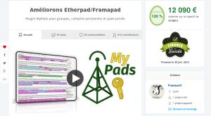 Campagne MyPads sur Ulule