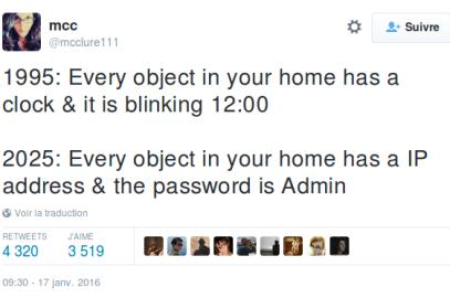 L'internet des objets nous surveille aussi