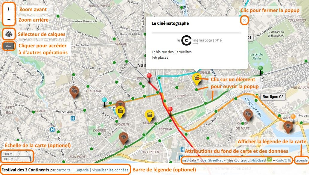 Comment consulter une Framacarte ? (Tutos uMap 1/4) - Framablog on