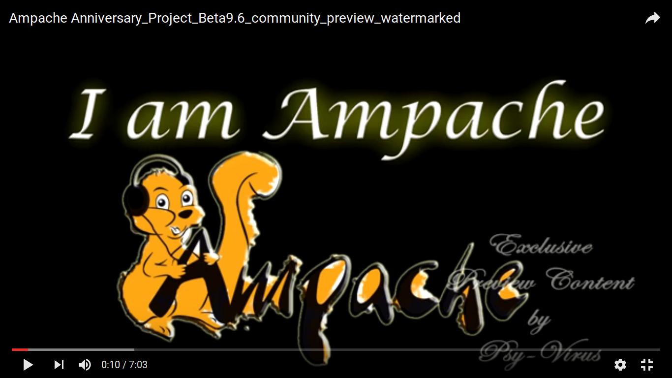 Vidéo de présentation d'Ampache sur Youtube