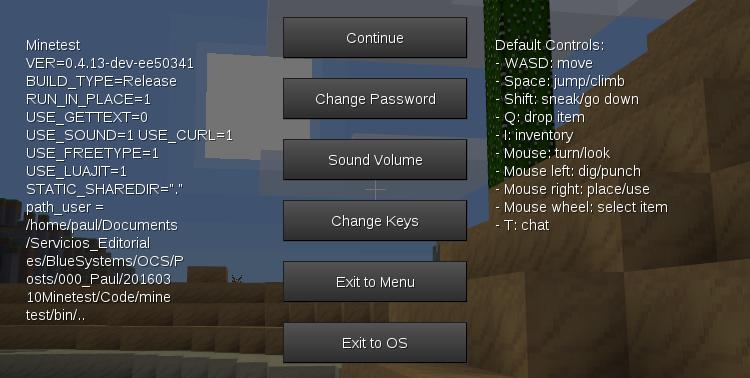 Changer son mot de passe depuis le menu utilisateur