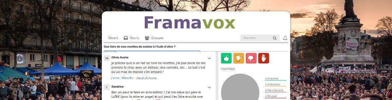 Framavox : discutez, décidez, et faites entendre votre voix !