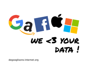 GAFAM : We <3 your Data