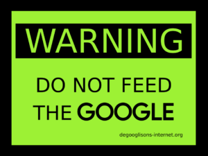 Don't feed the Google