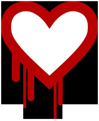 Le logo d'Heartbleed (licence CC 0)