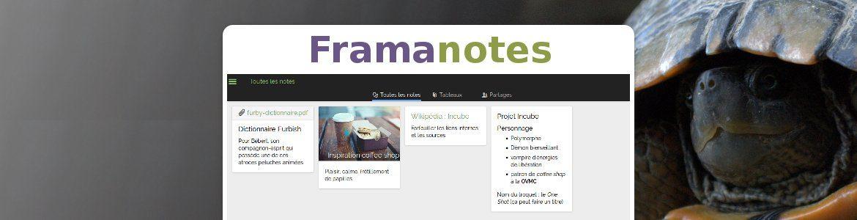 Framanotes : quittez Evernote pour plus de liberté et de chiffrement !
