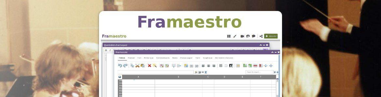 Framaestro : menez vos réunions et collaborations à la baguette !