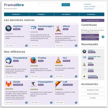 Framalibre: découvrez l'annuaire du Libre!