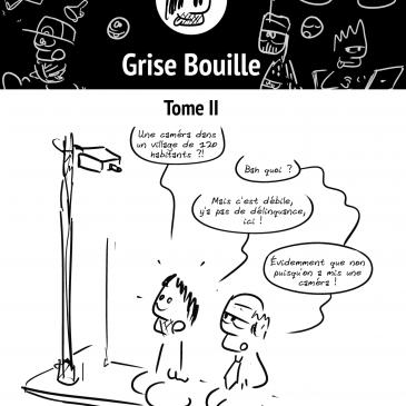 Grise Bouille, tome 2: lisez des BD moches!