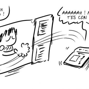 Le Ray's Day en BD !