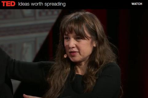 Cliquez sur l'image pour afficher la vidéo sur le site de TED (vous pourrez afficher les sous-titres via un bouton en bas de la vidéo)