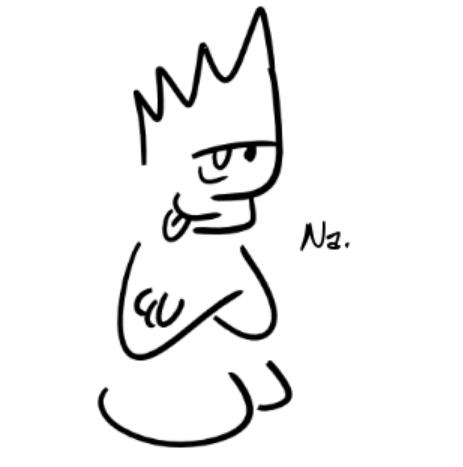 Un personnage, croisant les bras et tirant la langue, dit :