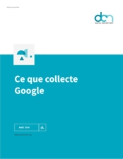 Ce que collecte Google version ODT