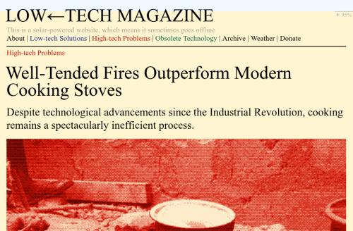 une page du magazine l'image d'illustration est rouge, le fond est jaune, aucun logo n'est ajouté, l'essentiel est du texte et une image