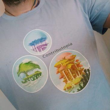 Des goodies Contributopia dans la boutique de David Revoy!