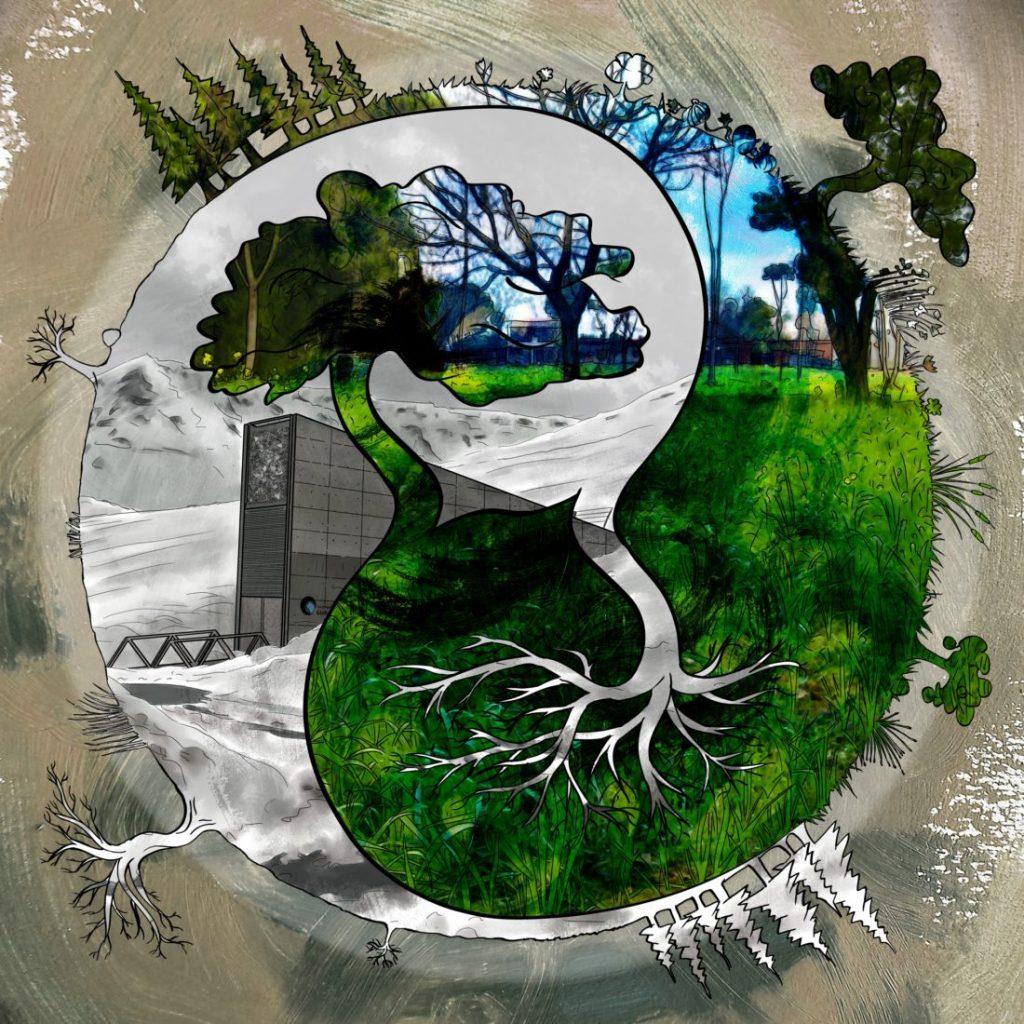 MANDRAKE la prudence Green body bébé grandir gilet MANDRAKE Bruyant Plant