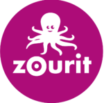 logo des Zourits (pieuvre souriante)