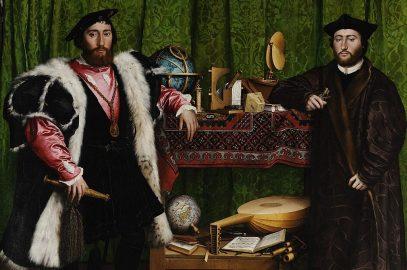 Les amabassadeurs, par Hans Holbein le Jeune, 1533