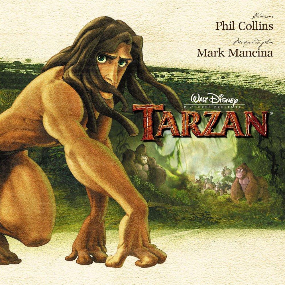 Pochette de la bande originale du dessin animé Tarzan de Disney