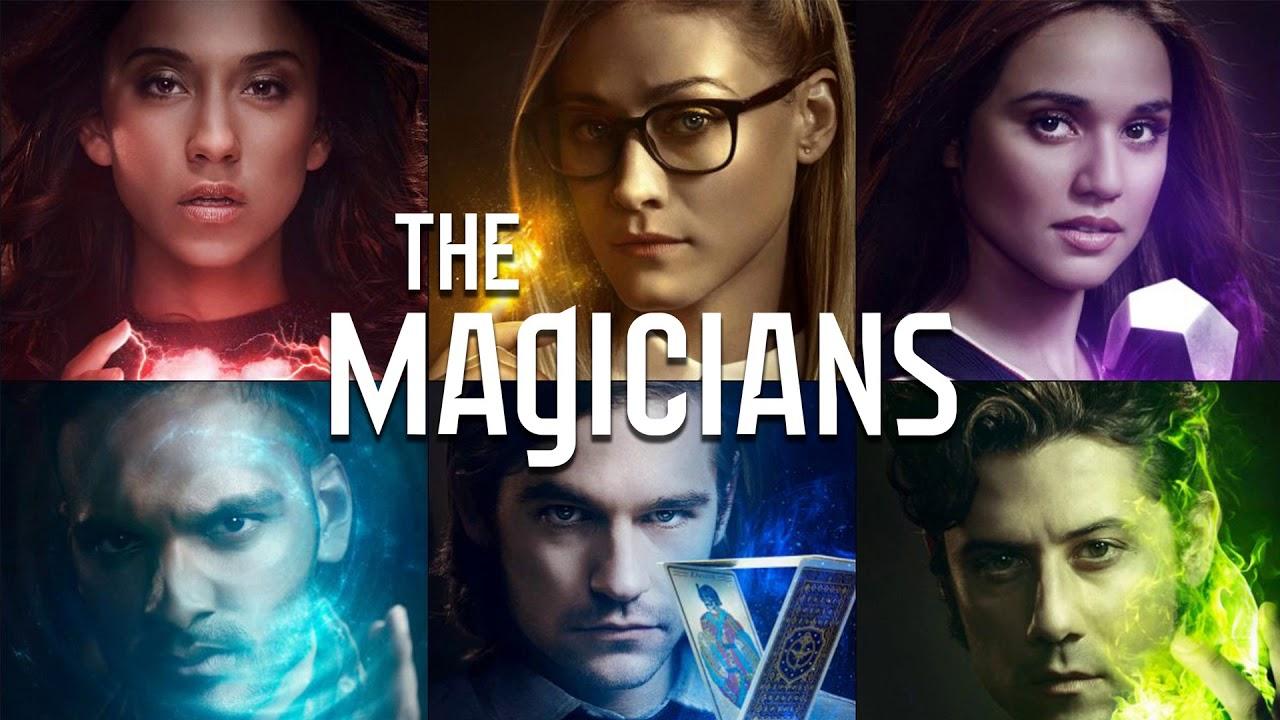 Extrait du générique d'une série TV, The Magicians, les magiciens